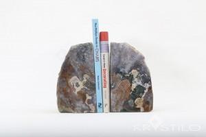 Tiara ( Moss Agate Book End )