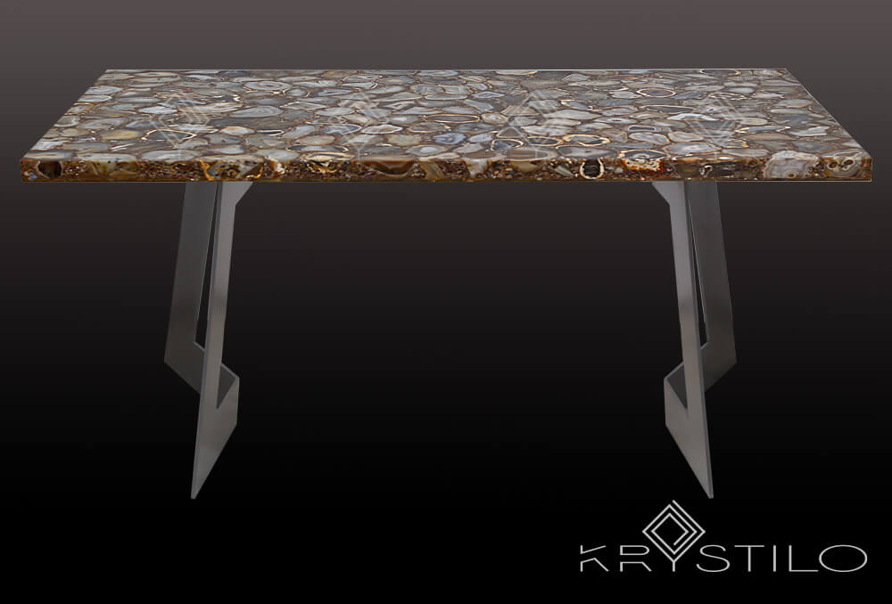Natural Yellow Agate Dining Top