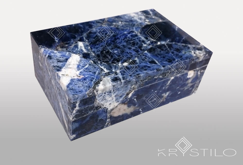Rihana ( Sodalite Jewellery box )