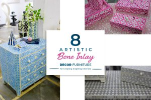 8 Artistic Bone Inlay Furniture for Creating Inspiring Interiors